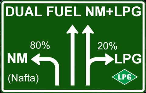 Diesel lpg nebo diesel cng