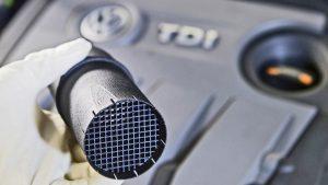 Filtry pevných částic DPF kouřících vozidel s dieselovými motory