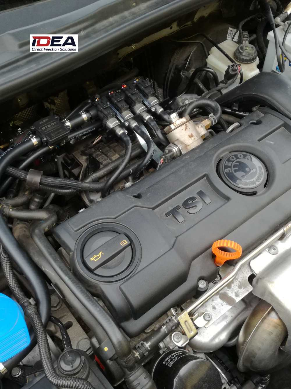 Přestavba motoru TSI na LPG