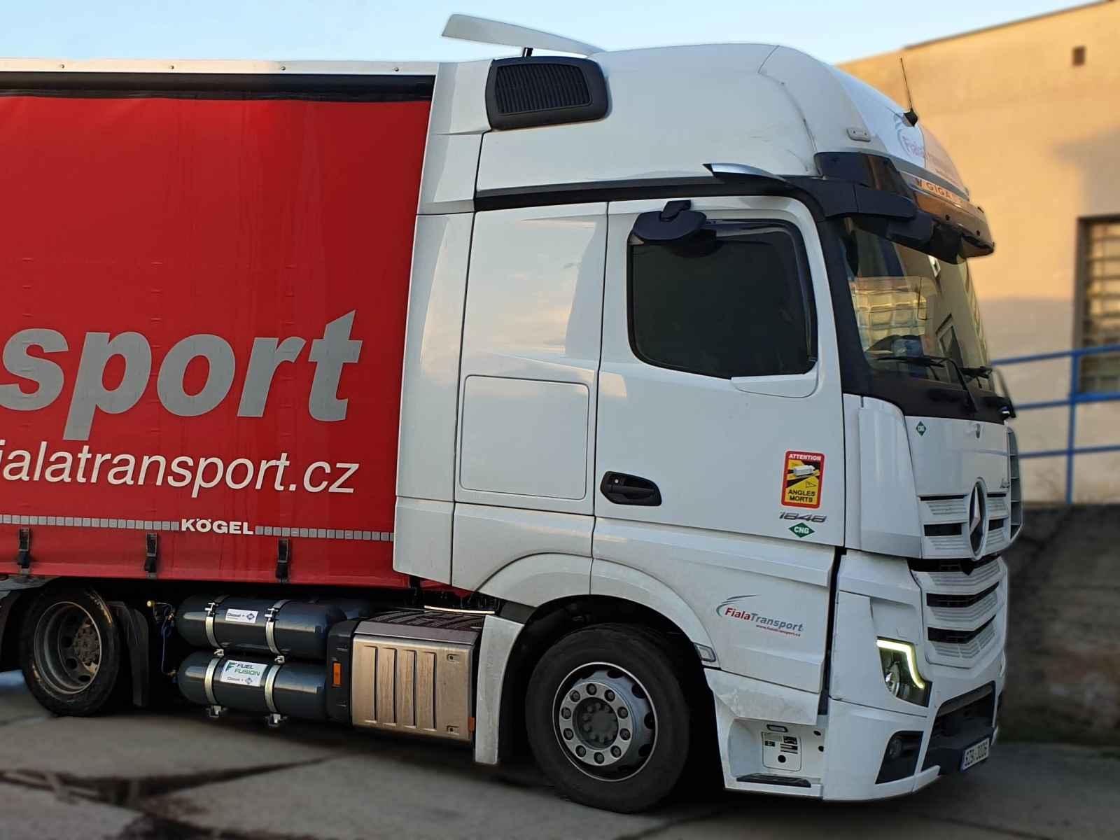 Levnější mýto pro Diesel CNG i v Čechách na všech zpoplatněných komunikacích