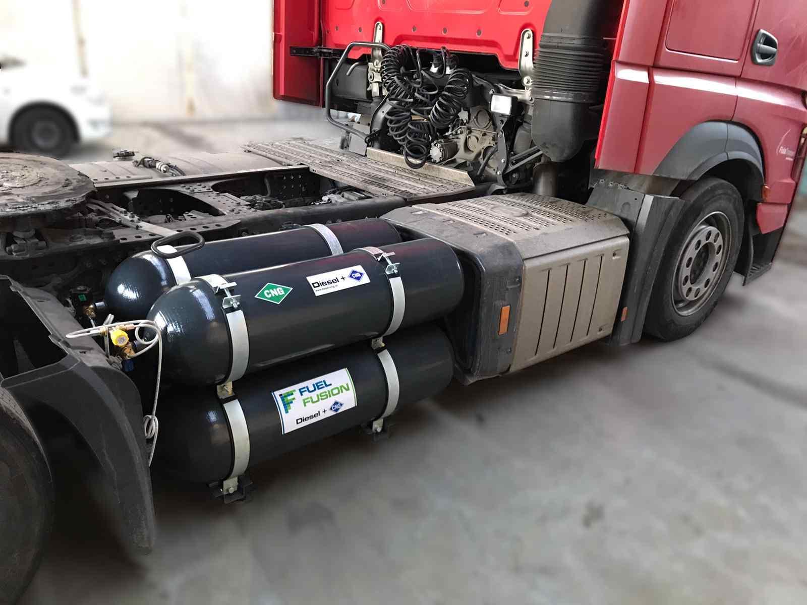 Mýto CZ levněji s Diesel CNG duálním pohonem na všech zpoplatněných komunikacích v České republice